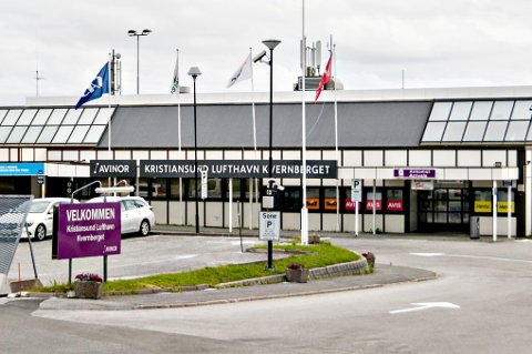 Kristiansund lufthavn Kvernberget.
