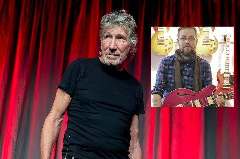 Tidligere Pink Floyd medlem Roger Waters  på  Nobels Fredssenter mandag. Dagen før var han innom Vintage Gitar som drives av kristiansunderen Arne Kr. Hast (innfelt). Tirsdag og onsdag har han konsert i Telenor arena.