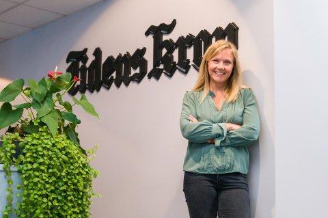 Catrine Bruvoll, salgsdirektør i Tidens Krav.