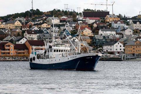 Hvalfangstskuta «Fiskebank1».