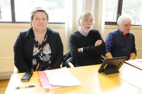 De tre er alle varamenn til Gjemnes kommunestyre i dag, men alle stiller på høstens liste for Arbeiderpartiet. Fra venstre Cecilie Søllesvik, Geir Berg og Øyvind Silset.