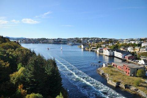 Kristiansund 28. september: Nesten 17 grader og strålende vær. Men slik blir det dessverre ikke lenge.