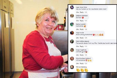 Annie Merete Barø sitt innlegg på Facebook fikk massiv respons.