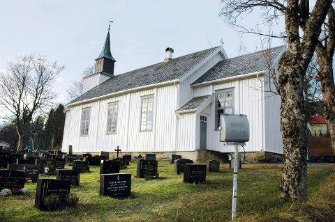 Det har vært innbrudd i Eide kirke.