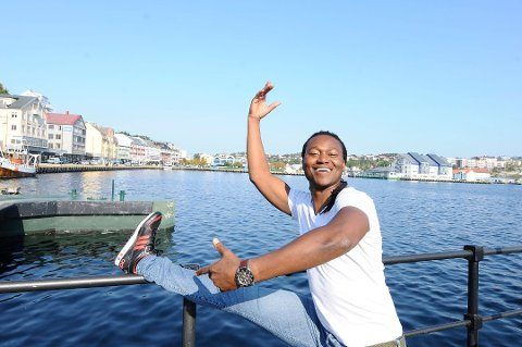 Tendai Makurumbandi håper å kunne arrangere International Dance Festival når han flytter tilbake til Kristiansund.