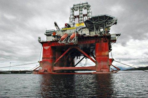 Det endte med en millionkrangel etter at 20 tonn stillaser «ble borte» om bord i Transocean Barents på Bremsnesfjorden.