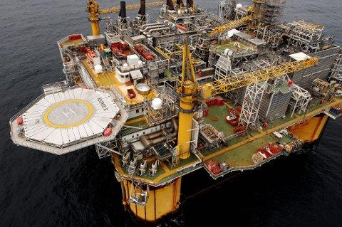 En investering på én million kan skape verdier for 500 millioner kroner i Norskehavet. Erfaringene så langt er meget gode. Her Åsgard B.