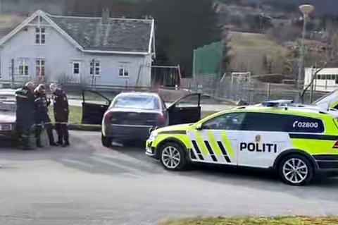Her har politiet funnet bilen i Batnfjord.