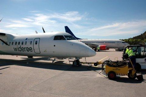 Havarikommisjonen beskriver hendelsen med Widerøes De Havilland DHC-8 på vei fra Kvernberget til Flesland i Bergen som en alvorlig luftfartshendelse.