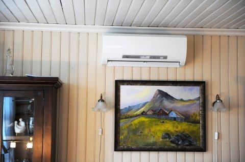 Varmepumper er et smart tiltak for å få ned energiforbruket, men blir det for kaldt ute, mister den effekt.