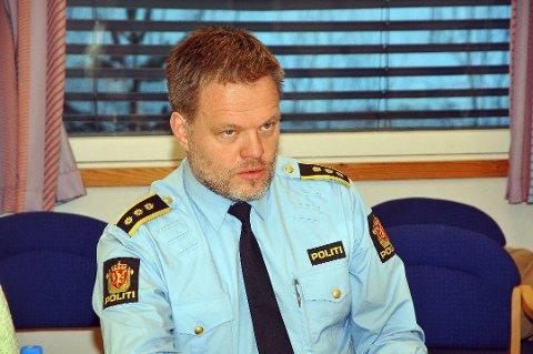 POLITILEDER I TELEMARK: Svein Olav Grini.