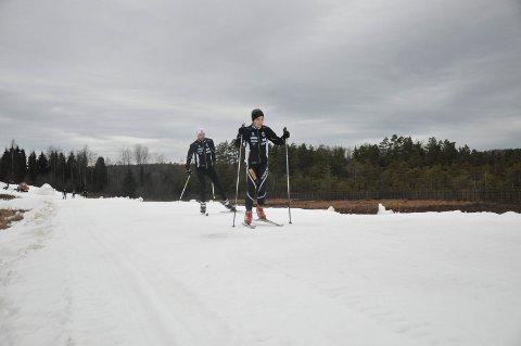 STORÅS: Lørdag morgen er det preparert ei sløyfe på 700 meter. Søndag utvides det til 1.100 meter. Arkivfoto: Ann Kristin Saastad