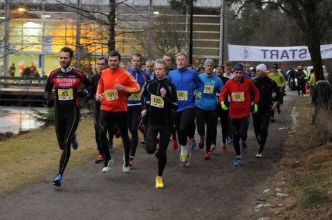 FJORÅRET: Tønsbergløpet samlet 200 deltakere i fjor.
