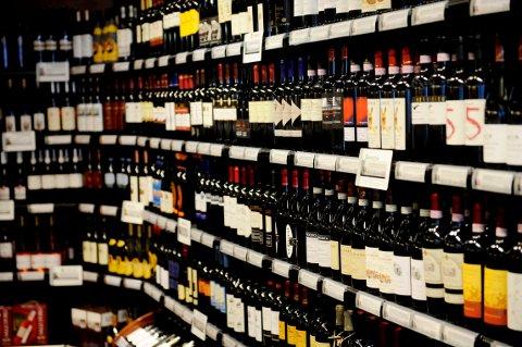 Vinmonopolet på Tjøme, vin, alkohol, vinmonopol, pol, polet. Foto: Anne Charlotte Schjøll