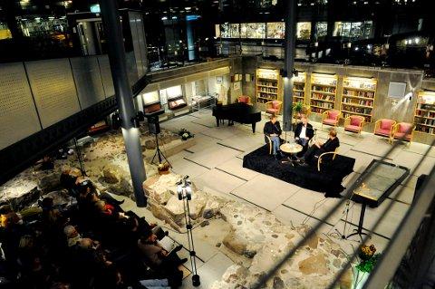 FORFATTERMØTER: Den 20. litteraturuka er nå rett om hjørnet. Og Tønsberg og Nøtterøy bibliotek blir igjen en snetral arena for arrangementet.