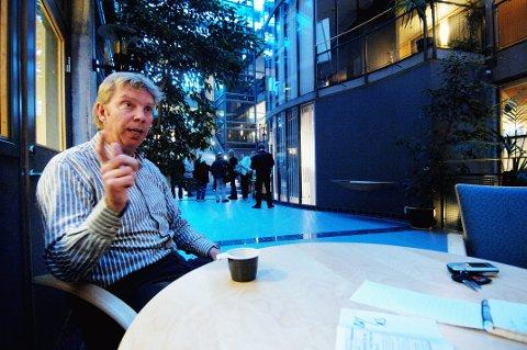 VIKTIG MØTEPLASS: Fylkeskulturdirektør Arild Moen lover lav terskel og høy kvalitet.