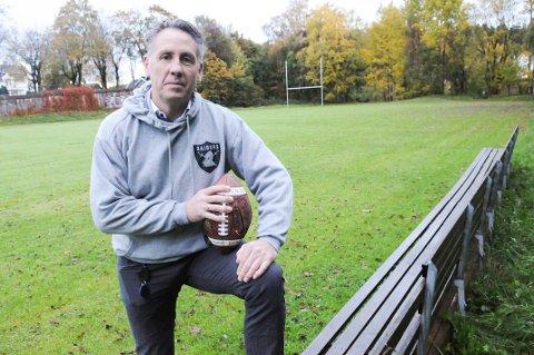 HÅPER: Styreleder Jan Åge Søderlind håper at klubben fortsatt kan holde til på Gamle Idretten.