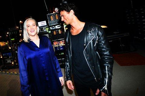 SEMIFINALE NESTE:  Agnes Stock og Sebastian James Hekneby er blandt de fem som har sunget seg til semifinalen i «The Voice».