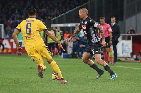 LØVENS HULE: Hvem spiller sine hjemmekamper på Stadio San Paolo?