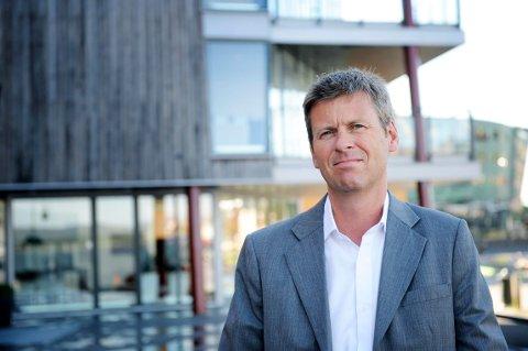 STØTTE: Øystein Hjørnevik, næringssjef i Tønsberg kommune ønsker å dele ut friske midler til det lokale næringslivet.