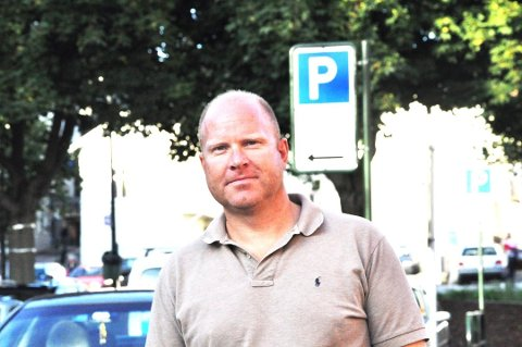ÅPENT: Parkeringsselskapet lot kundeinformasjon ligge åpent tilgjengelig på nettet. Andreas Evensen i selskapet lover at dette nå er ryddet opp i.