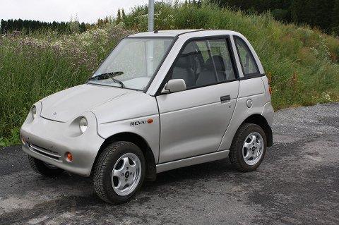 SÆRPREG: På jakt etter en bitteliten elbil til å bruke i byen? Da kan en slik bli din for 9500 kroner.
