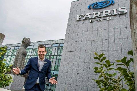 EN DESTINASJON: Hotelldirektør Andreas Nilsson mener at Farris Bad er det mest populære hotellet på Tripadvisor fordi det som spahotell er en destinasjon i seg selv, og ikke bare et vanlig hotell.