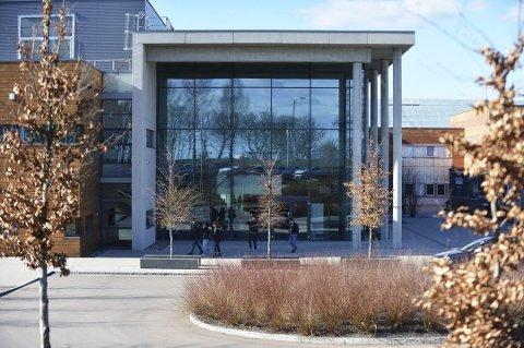VESTFOLD: 1750 personer har fått tilbud om studieplass på Campus Vestfold på Bakkenteigen.