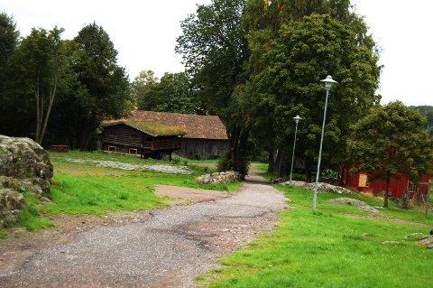 VESTFOLDTUNET: Her kommer mange av Slottsfjellsmuseets aktiviter til å foregå i høst.