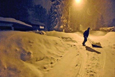 SNØ: Det er ventet snø over Tønsberg og Vestfold onsdag og dagene mot helgen.