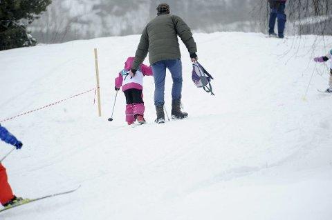 Denne helgen blir det ypperlige skiforhold i Vestfold.