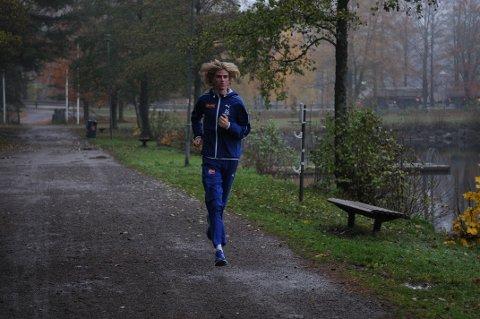KLAR FOR NEDERLAND: Jonatan Vedvik blir med det norske laget til EM i terrengløp.