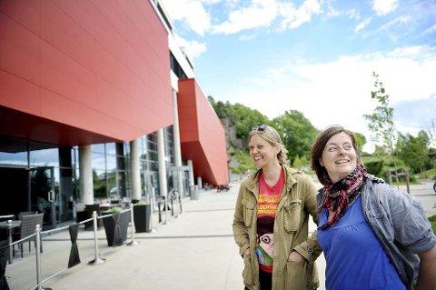 FILMKLUBB: Mye har skjedd siden Cecilia Gustavsen og Vibeke Lia i juni 2013 bekjentgjorde at Tønsberg igjen ville få en filmklubb, med tilhold på Kilden.