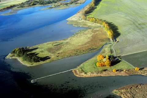 ILENE: Ilene våtmarkssenter ligger bare noen hundre meter fra byen, og er lett tilgjengelig. Søndag er det meldt strålende vær, og det er åpen dag med fuglekassesnekring og mye annen aktivitet i naturperlen.