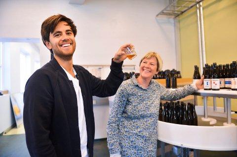 NYHET: Færder mikrobryggeri avslører en ny alkoholfri nyhet. Det har Mathias Krüger og mamma Tone Krüger ønsket lenge.