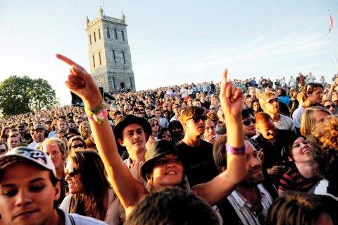 SAMARBEID: Slottsfjellfestivalen inngår samarbeid med konsertgiganten Live Nation.