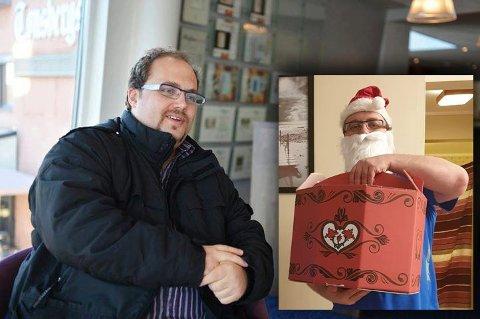 JULEOVERRASKELSE: Nikolai Paulsen vi lglede noen som trenger en oppmuntring før jul.