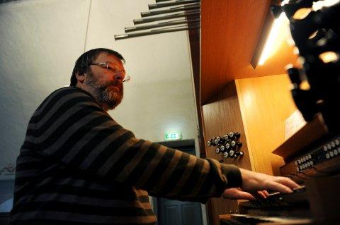 PRIMUS MOTOR: Svein Erik Tandberg er musikalsk leder for julekonserten. Kanskje blir det hans siste.
