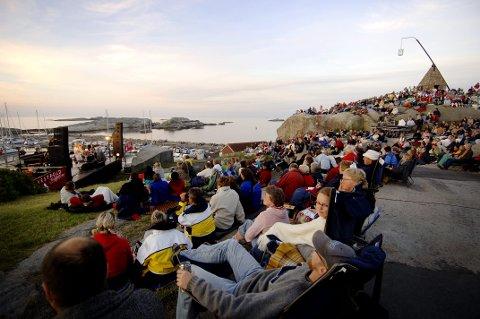 Silje Nergaard trakk fullt svaberg under soloppgansgkonsert i regi av Vestfold festspillene i 2006