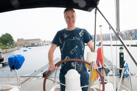 TIL RORS: Truls Lian er programleder for Tønsbergs Blads Færder'n-sending.