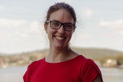 Førstekandidat for Rødt i Vestfold og Telemark, Maren Njøs Kurdøl