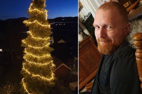 Rune Bjølgerud fra Sande tok Bent Høies på høyeste alvor da helseministeren ba nordmenn ta julepyntingen på alvor i 2020.