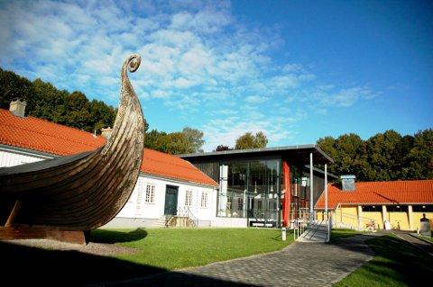 LEDIG SJEFSJOBB HER: Slottsfjellsmuseet.