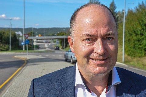 IKKE LEI: Morten Stordalen (Frp) ber partiet og Vestfold-velgerne om fire nye år som stortingsrepresentant.