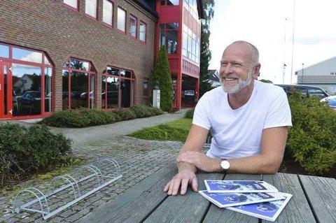 PLANLEGGER HØSTEN: Det har vært sesonger som har vært mer forutsigbare enn det den kommende er, for kulturhussjef på Nøtterøy, Einar Schistads del.