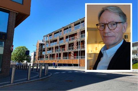 KRITISK: – Dette boligprosjektet har prisregulering som holder kjøperne utenfor prisveksten, skriver Nils-Jacob Lugg.