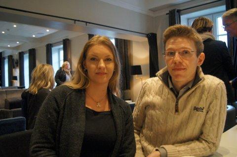 KONKURS: Thale Anker Feiring og Håvard Hamran sitt firma TechFix måtte stenge på mandag.