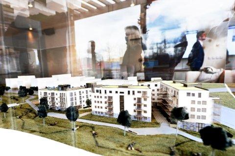 BYGGES: Teieparken er ett av prosjektene boliggiganten OBOS har under utbygging. Flere boliger her har allerede fått nye eiere.