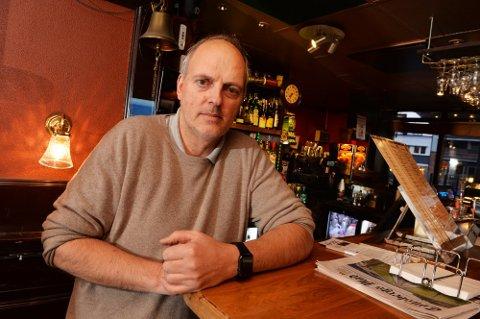 TESTET POSITIVT: Eier og daglig leder Michael Strønen ved Big Ben, har testet positivt på covid- 19. Puben har vært stengt siden søndag kveld.