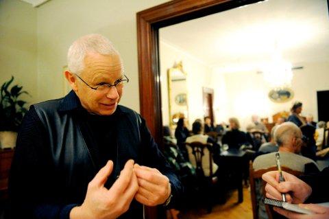 SAMTALEPARTNER: Filosofisk praksis er ikke så kjent i Norge. Men i flere land har det fått en viss utbredelse. Tom Rønning fra Tønsberg er en av få i Norge som tilbyr dette.